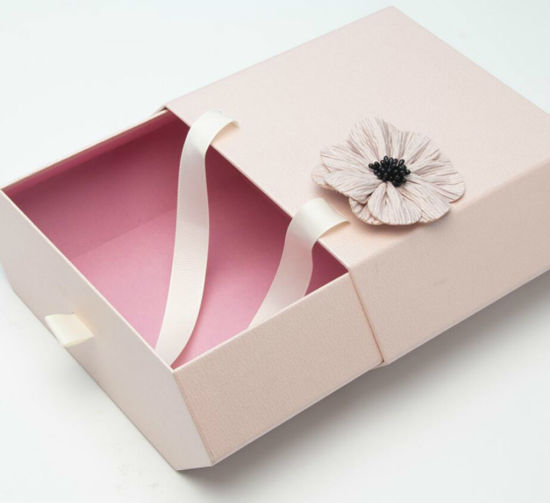Handle Biscuit High Quality Paper Gift Box Cardboard Gift Box for Chocolate/Cookie