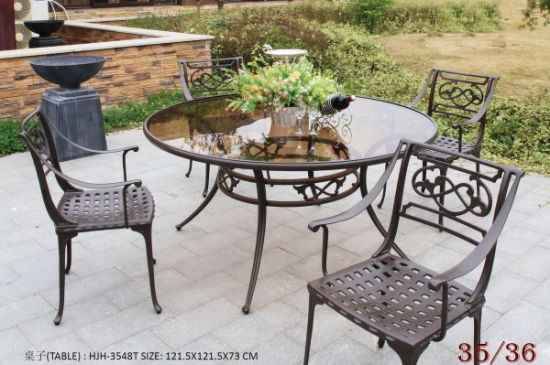Brilliant China Cast Aluminum Outdoor Furniture Patio Furniture Garden Home Interior And Landscaping Eliaenasavecom