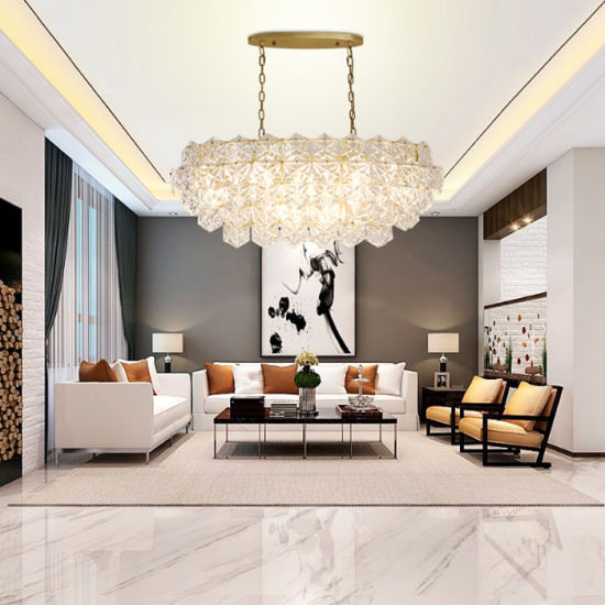 Peachy China Luxury Modern Hotel Crystal Pendant Chandelier In Interior Design Ideas Tzicisoteloinfo