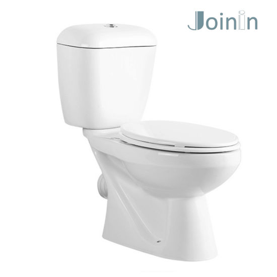 Chaozhou Sanitary Ware Bathroom Ceramic Two Piece Wc Toilet with P-Trap (JY2109) pictures & photos