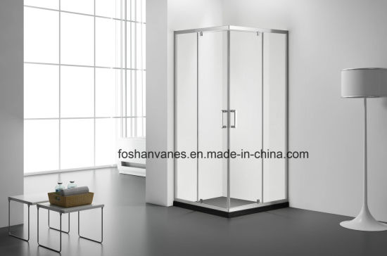 Double Doors Clear Tempered Glass Shower Room Vkf410 pictures & photos