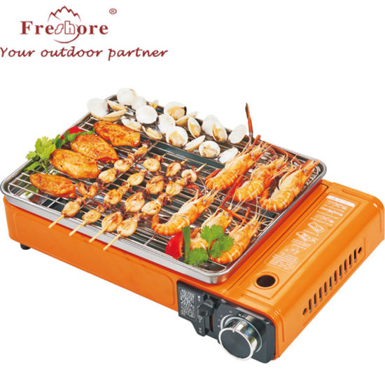 Hot Selling Wide Area Smokeless and Cleaning Portable Outdoor Picnic Barbecue Butane Gas Stove