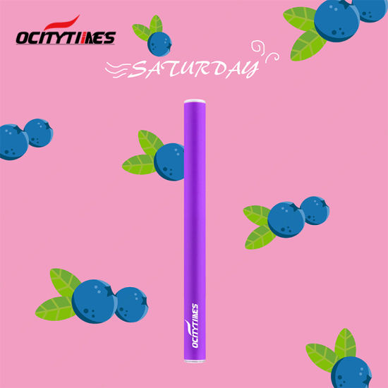 Blueberry Fruits Flavor Vape Pen 500 Puffs Disposable E Cig pictures & photos