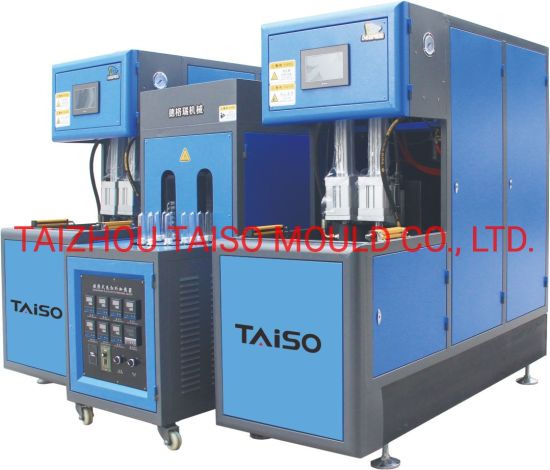 Small Water/Oil/Win Pet Bottles Semiautomatic Blow Moulding/Molding Machine/Plastic Machinery/Plastic Machine with CE