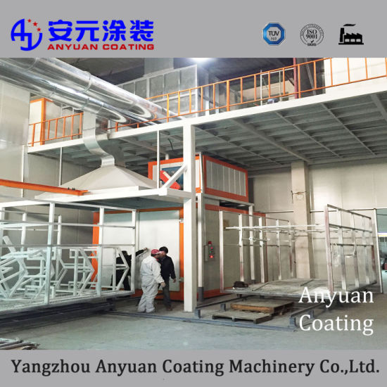 Manual/ Automatic Powder Coating Machine with TUV