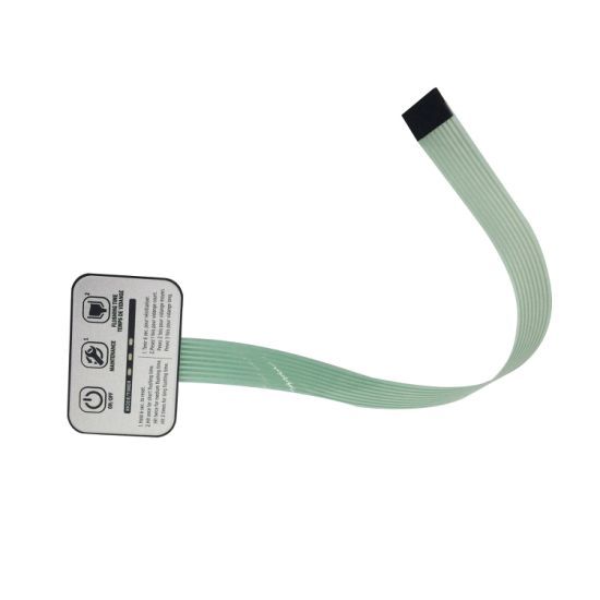 Waterproof and Dustproof Membrane Switch with Flexible Long Circuit