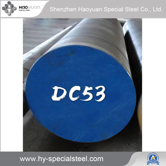 DC53 Cold Work Steel for Blanking and Cold Forming Die