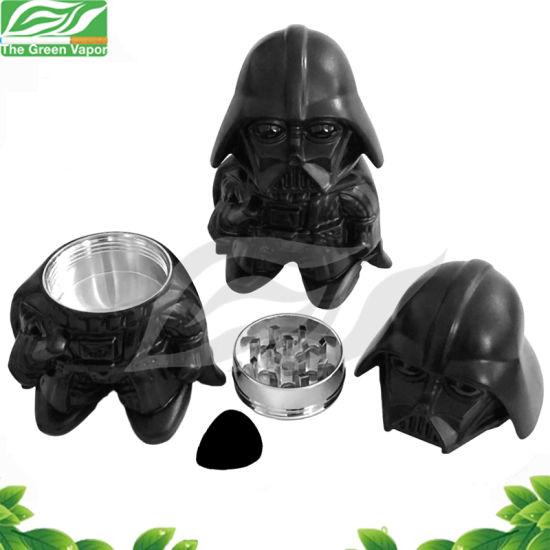 New Arrival Jedi Design Herb Grinder, Darth Vader Star Wars Weed Grinder, Herb Grinder with Guitar Pick