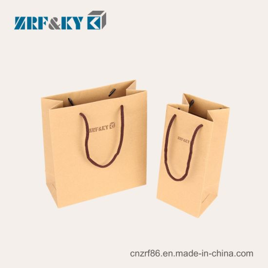 Customized Printed White/Brown Kraft/Art/Coated Paper Packaging Candy/Tea/Nut/Food/Shopping Paper Bags