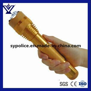 High Power Electric Shock Torch with LED Flashlight (SYSG-201823) pictures & photos