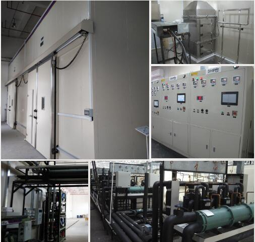 Commercial Air Conditioner Performance Test Room