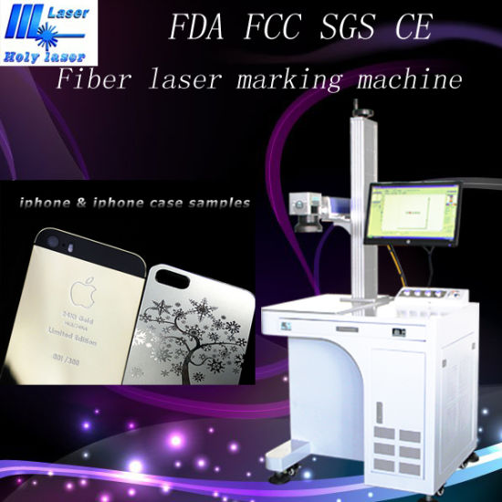 High Quality Portable Metal Fiber Laser Marking Machine Price Hsgq-20W pictures & photos