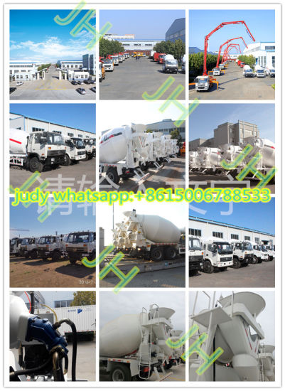 China Hot Sale Mini 3cubic 4cubic 5cubic Concrete Mixer Truck Truck ...