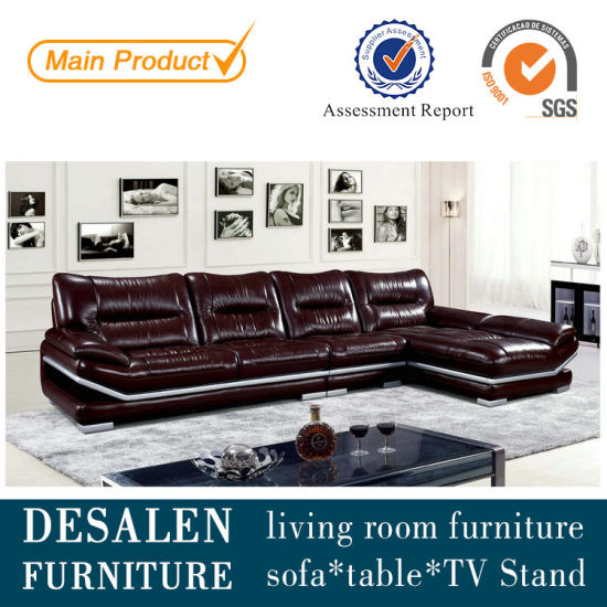Hot Sell Italian Design Modern Leather Sofa (S2170)