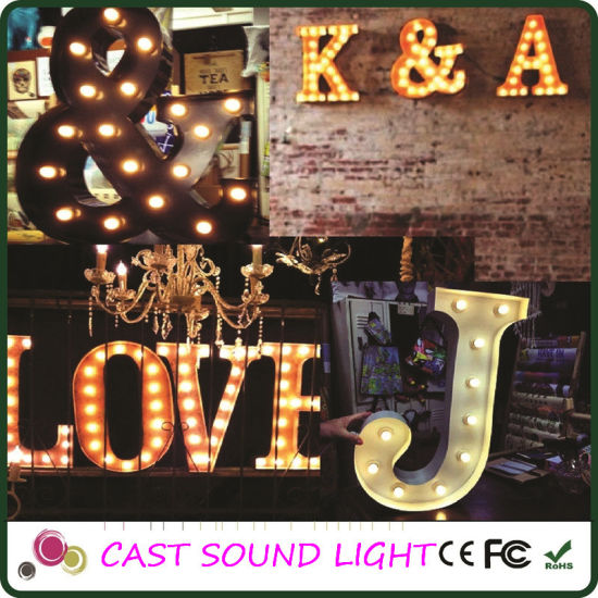 DJ/Disco/Night Club LED Sign Wedding Decoration Light pictures & photos