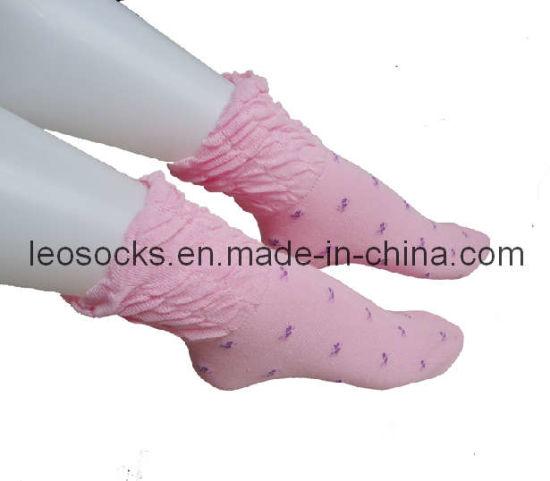 11bfd6ba705 China Fashion Pompom Ankle Women Socks - China Women Socks