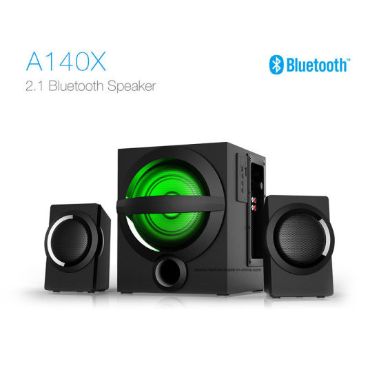Wholesale Active 2.1 Sound USB Stereo Loudspeaker Multimedia Computer Bluetooth Speaker