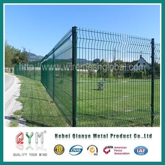 China Welded Wire Fence Steel Fence/ Curvy Welded Wire Mesh Fece ...