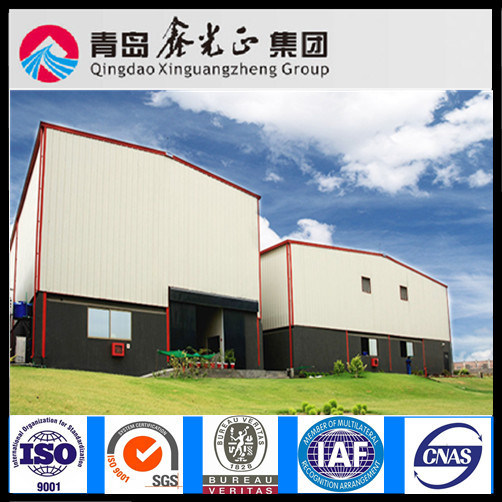 Steel Structure Warehouse in South America (SS-294)