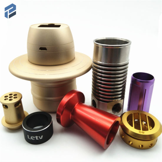 High Precision CNC Machining Aluminum Parts with Colorful Anodized