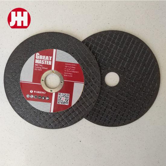 China Manufacturer Super Thin Cutting Disc Abrasive Cutting Wheels
