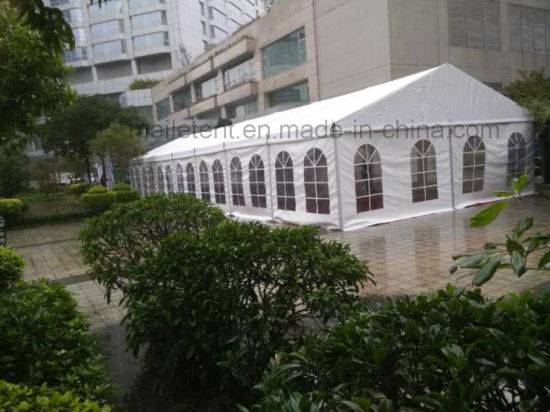 150 People Aluminium Structure PVC Fabric Family Wedding Tent 10m*18m pictures & photos