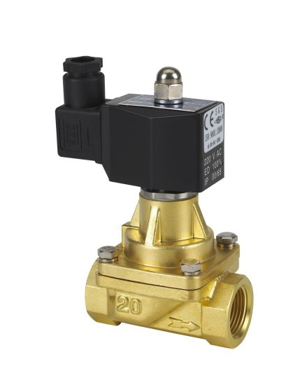 Steam Brass Solenoid Valve pictures & photos