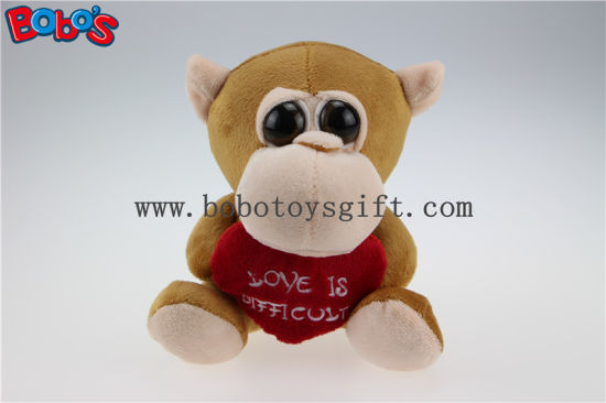 China Valentines Day Gifts Big Eyes Toy Series Monkey Animal With