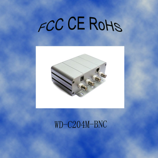 200Mbps Local Side Coaxial Adapter for HD Network Monitoring System