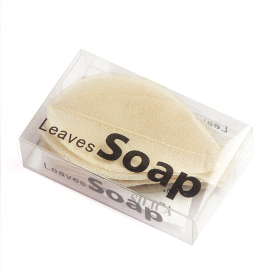 Leaf Soap Handmade Face Soap Cleansing Essential Oil Soap
