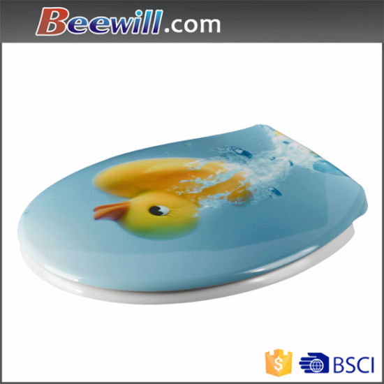 Duroplast Printed Bathroom Sanitary Toilet Cover pictures & photos