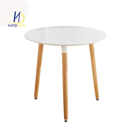 Wholesale Coffee MDF Wood Detachable Dining Table