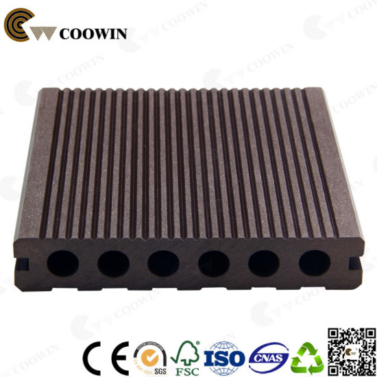 Swimming Pool Outdoor Wood Plastic Composite Decking pictures & photos