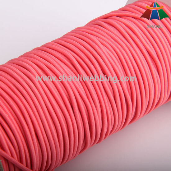 3mm Round Elastic Cord for Garment Accessories