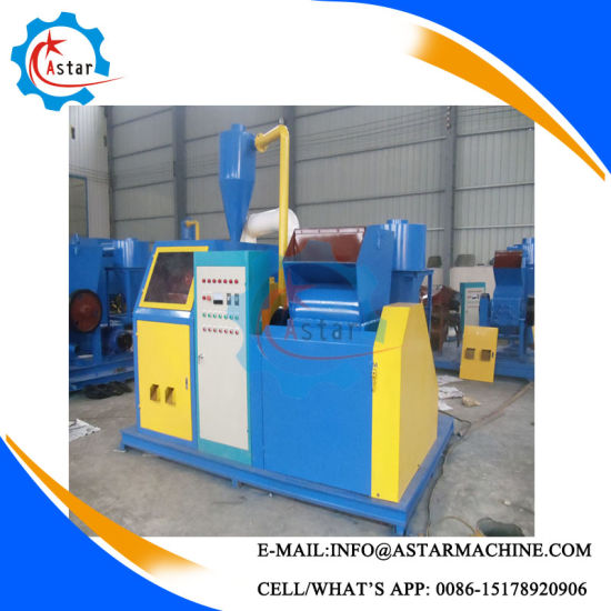 China Scrap Cable Wire Stripper Waste Wire Stripping Machine - China ...