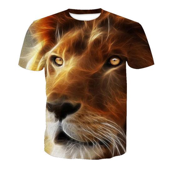 d9dec316a 2019 High Quality Wholesale Mens 3D Animal Design T-Shirt pictures & photos