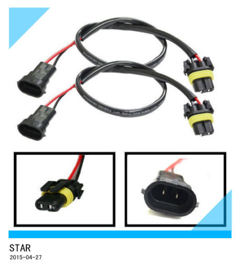 9008 HID Ballast Socket Wire Harness For Fog Light Pictures Photos