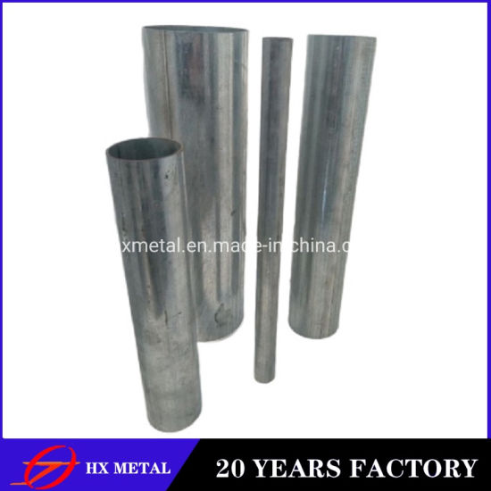 Manufacturer Prime Quality ASTM BS Black Tube Gi Galvanized Steel Pipe for Construction