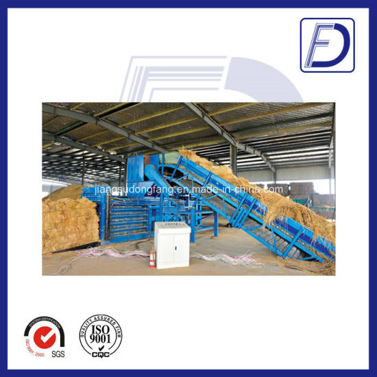 Epm160 Ce Horizontal Waste Cardboard Baler pictures & photos