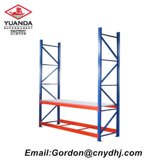 Warehouse Metal Adjustable Racking with Wire Layer Board for Storage