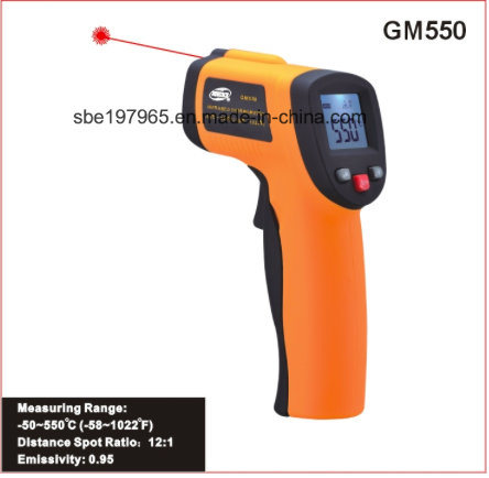 Infrared Thermometer GM550 pictures & photos