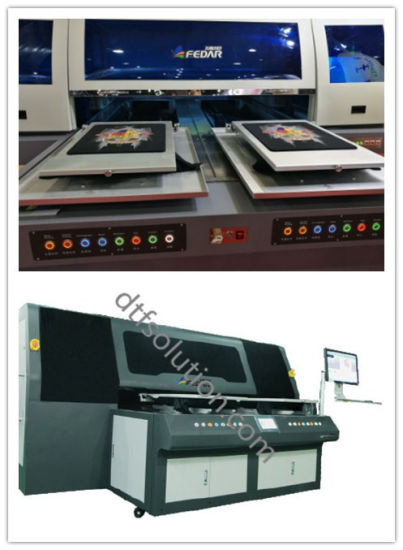 Fd680 Perfect Printing Machine for T-Shirt with Pigment Solution