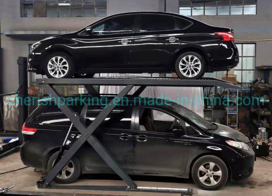 2.7t Hydraulic Garage Parking Scissor Lift