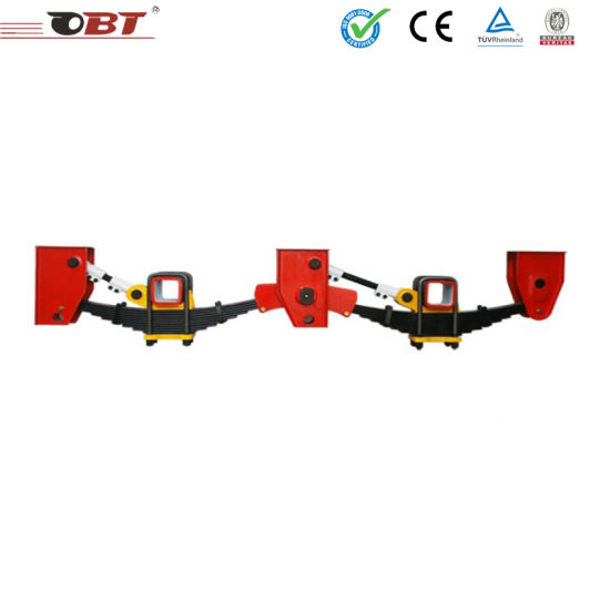 Trailer Accessory 3 Axle Trailer Mechanical Suspension pictures & photos