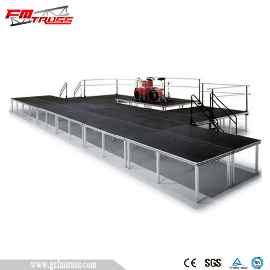 Carpet Surface Stage/Party Stage Design/Stage Platform Adjustable pictures & photos