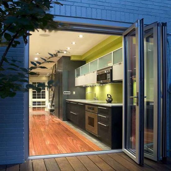 China Affordable Price Marine Aluminum Folding Door with