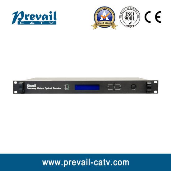 CATV 1u Four-Way Return Optical Receiver