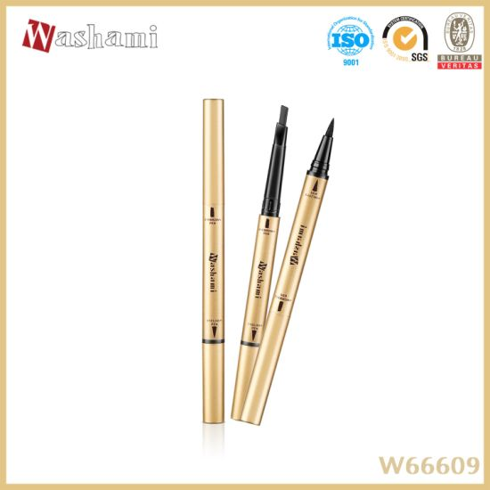 Washami 24hours 2in1 Lasting Smooth Eyeliner&Eyebrow Pencil pictures & photos