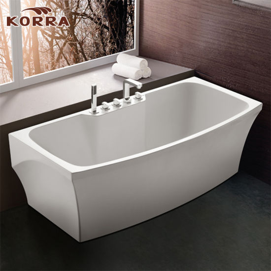 china wholesale manufacturer bathroom freestanding acrylic bathtub