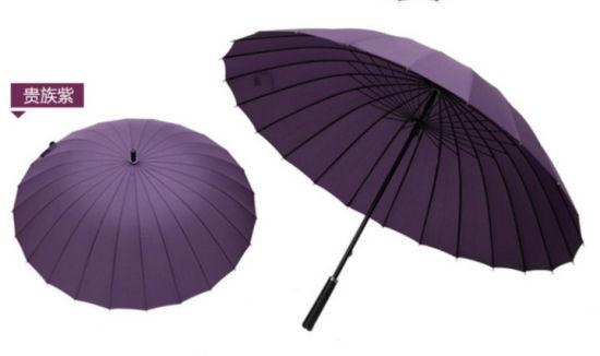 Factory Spot Wholesale 68.5cm*24K Business Double Straight Umbrella